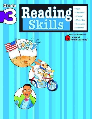 Reading Skills: Grade 3 (Harcourt Family Learning): Flash Kids Editors