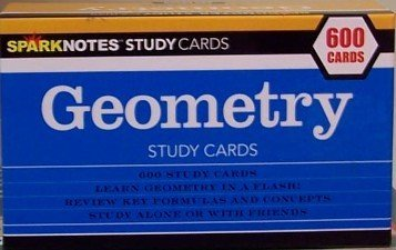 9781411401235: Geometry Study Cards (Sparknotes Study Cards)