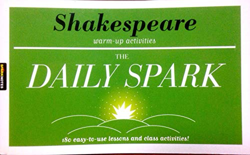 9781411402294: Shakespeare Warm up Activities (The Daily Spark)