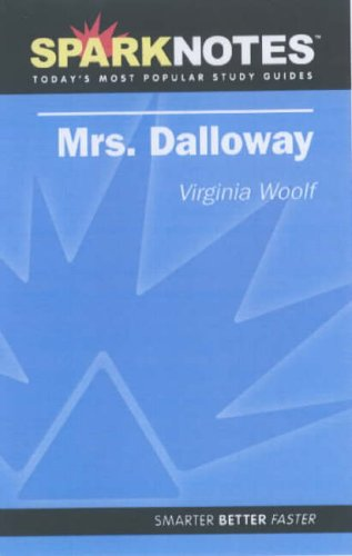 9781411402546: Spark Notes Mrs. Dalloway