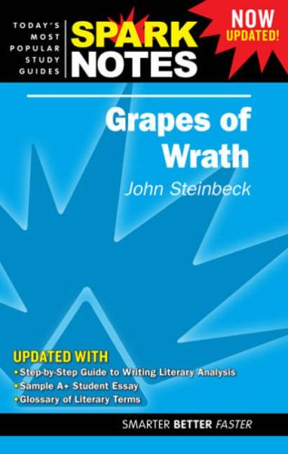 "9781411403277: ""Grapes of Wrath"" (Spark Notes Literature Guide)"