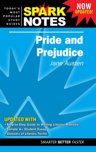 9781411403284: Pride and Prejudice (Spark Notes. Study Guides)