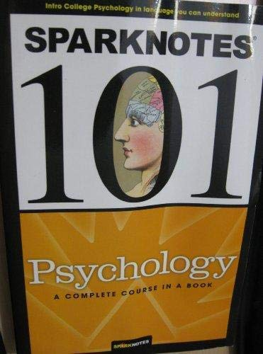 9781411403321: Psychology (SparkNotes 101)