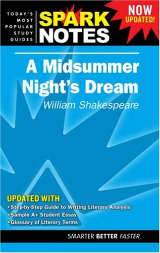 9781411403611: Midsummer Night's Dream by William Shakespeare, A (Spark Notes Literature Guide)