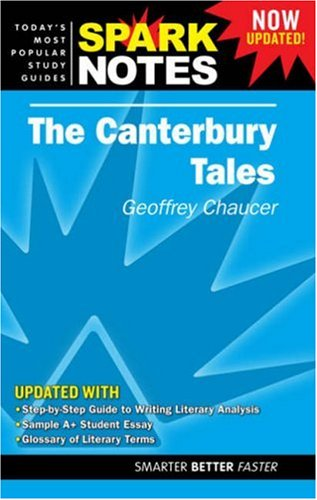 """9781411403758: The """"Canterbury Tales"""" (SparkNotes Literature Guide)"""