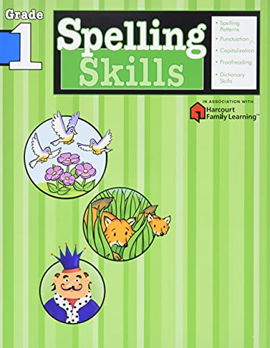 Spelling Skills: Grade 1 (Flash Kids Harcourt