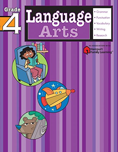 Language Arts: Grade 4 (Flash Kids Harcourt: SparkNotes Staff