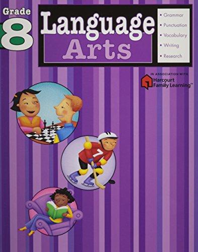 Language Arts: Grade 8 (Flash Kids Harcourt: Flash Kids Editors