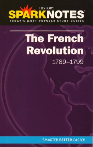 9781411404311: The French Revolution (SparkNotes History Note) (SparkNotes History Notes)