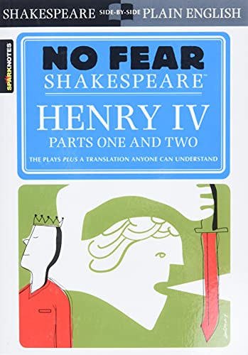 9781411404366: Henry IV , Parts One and Two(No Fear Shakespeare)