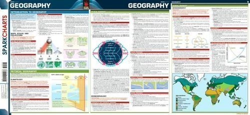 9781411404533: Geography SparkCharts