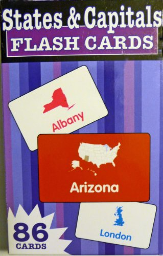 9781411404601: States and Capitals (Flash Kids Flash Cards)