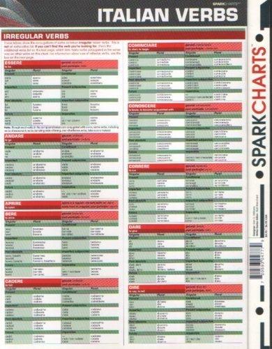 9781411404779: Sparkcharts Italian Verbs
