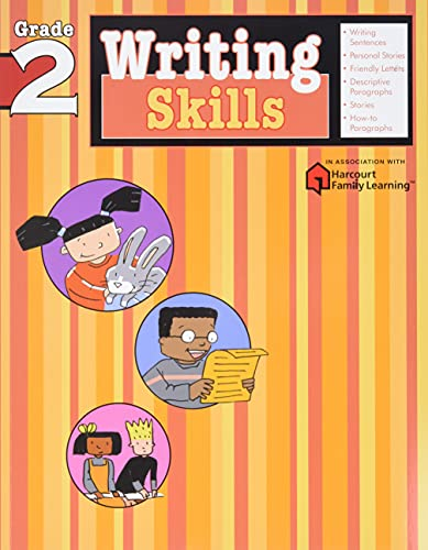 9781411404809: Writing Skills: Grade 2 (Flash Kids Harcourt Family Learning)