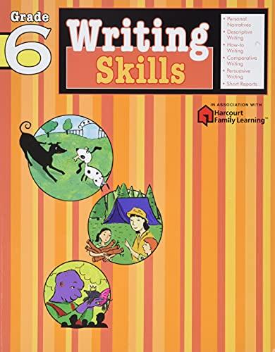 9781411404830: Writing Skills: Grade 6 (Flash Kids Harcourt Family Learning)