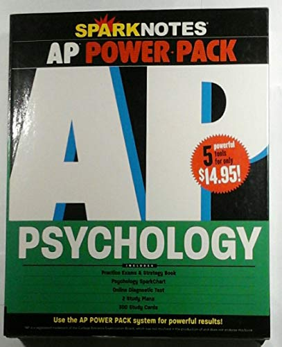 9781411404878: AP Psychology Power Pack (SparkNotes Test Prep)