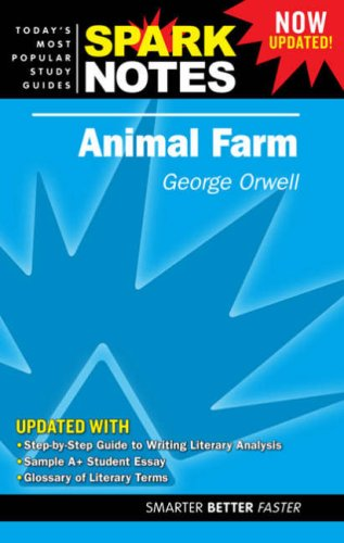 9781411405141: Animal Farm Spark Notes
