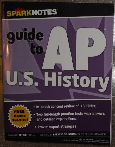 Sparknotes Guide to AP U.S. History: Harvard Students