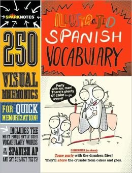 9781411405196: Sparknotes Illustrated Spanish Vocabulary