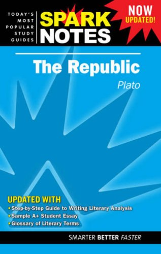 9781411407152: Republic by Plato, The (SparkNotes Literature Guide)
