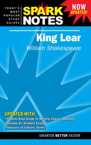 9781411407206: King Lear (SparkNotes Literature Guide)