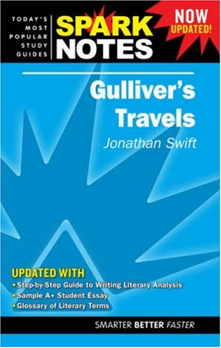 9781411407350: Spark Notes Gulliver's Travels