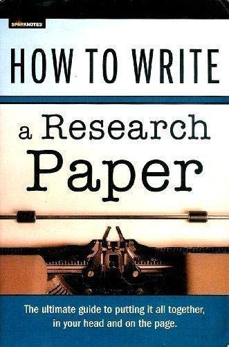 How to Write a Research Paper: UNITED STATES NAVAL