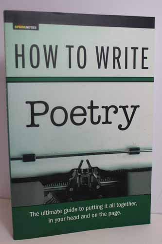 9781411423442: How To Write Poetry
