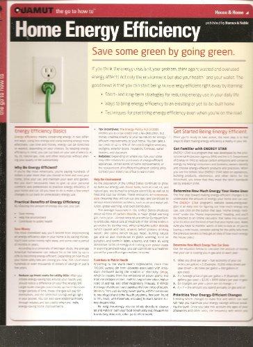 Home Energy Efficiency (Quamut): Quamut