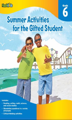 9781411427662: Summer Activities for the Gifted Student: Grade 6 (For the Gifted Student)
