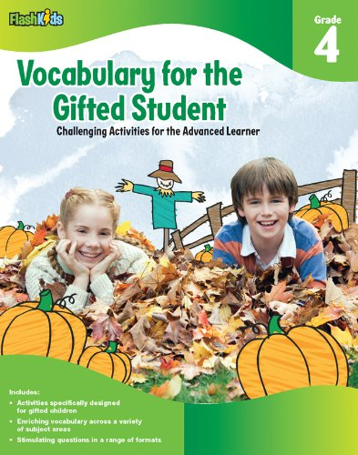 Vocabulary for the Gifted Student Grade 1 For the Gifted Student Challenging Activities for the Advanced Learner