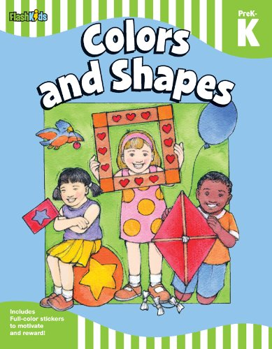 9781411434707: Colors and Shapes: Grade Pre-K-K (Flash Skills)