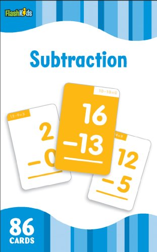 9781411434820: Subtraction (Flash Kids Flash Cards)