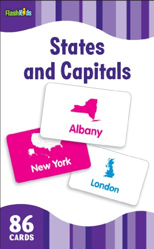 9781411434851: States and Capitals (Flash Kids Flash Cards)