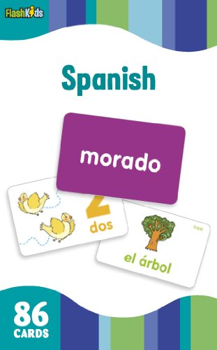 9781411434905: Spanish (Flash Kids Flash Cards)