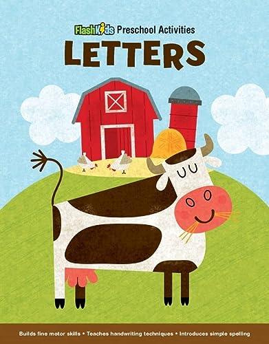 9781411458086: Letters (Flash Kids Preschool Activity Books)