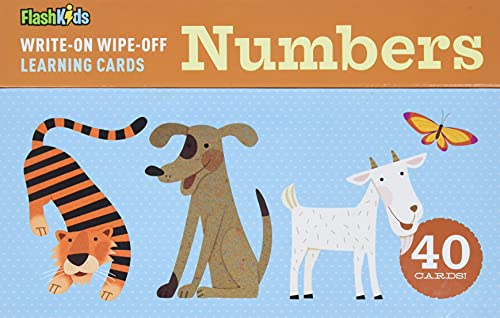 Write-On Wipe-Off Learning Cards: Numbers: Flash Kids