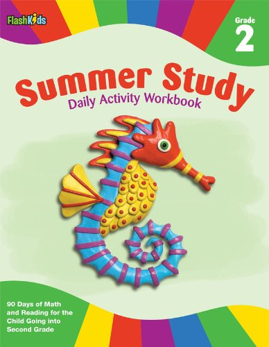 9781411465350: Summer Study Daily Activity Workbook: Grade 2 (Flash Kids Summer Study)