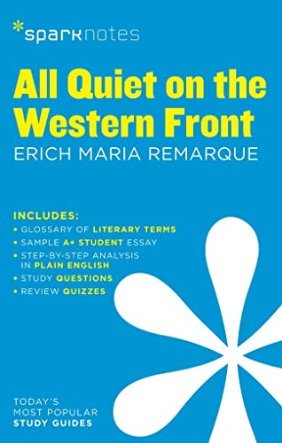 9781411469419: SparkNotes All Quiet on the Western Front