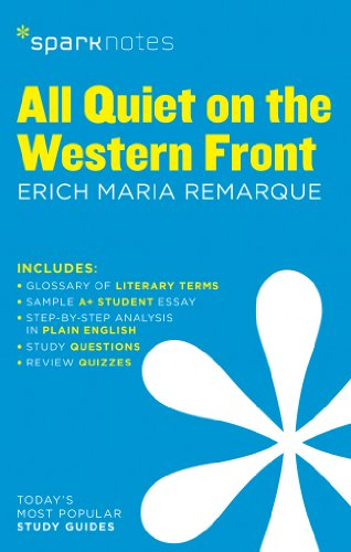 9781411469419: All Quiet on the Western Front by Erich Maria Remarque (Sparknotes)