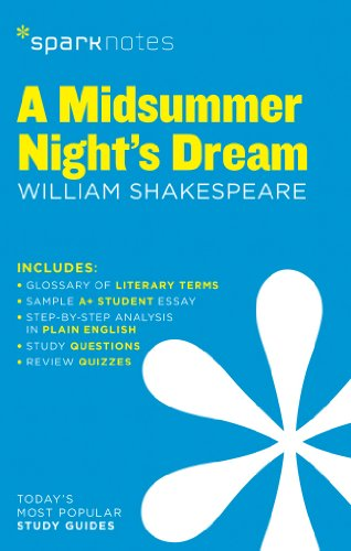 9781411469617: Midsummer Night's Dream by William Shakespeare, A (Sparknotes Literature Guide)