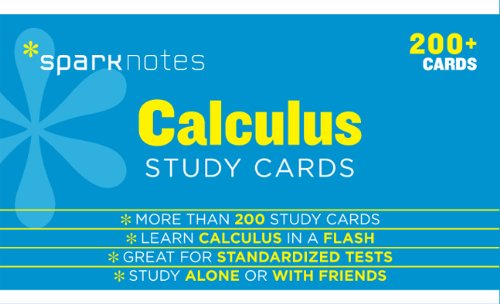9781411469938: Calculus SparkNotes Study Cards