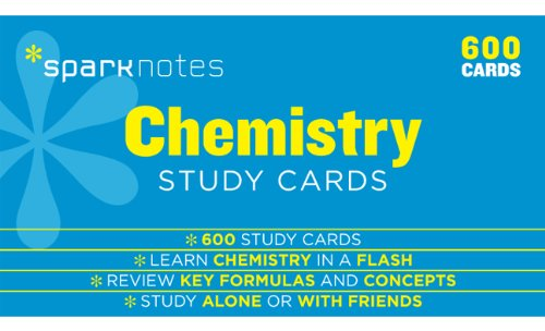 Chemistry SparkNotes Study Cards: SparkNotes