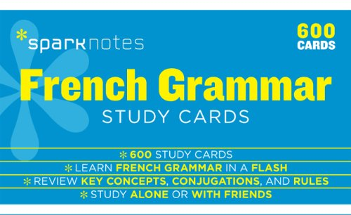 9781411469976: French Grammar (Sparknotes Study Cards)
