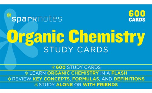 9781411470057: Organic Chemistry Sparknotes Study Cards, Volume 15