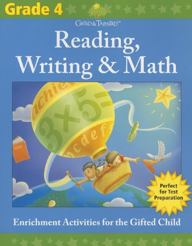 9781411495548: Gifted & Talented: Grade 4 Reading, Writing & Math (Flash Kids Gifted & Talented)