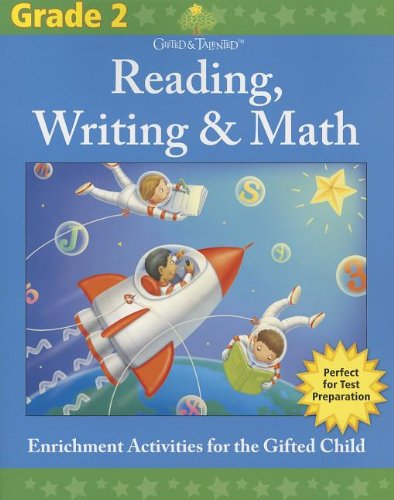 9781411495562: Gifted & Talented: Grade 2 Reading, Writing & Math (Flash Kids Gifted & Talented)