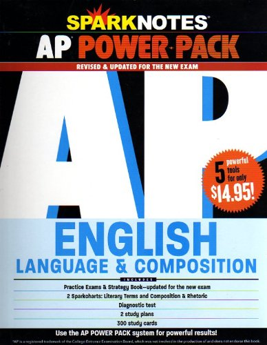 Spark Notes Ap Power Pack: English Language: SparkNotes Editors