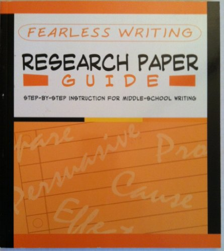 9781411497535: Fearless Writing: Research Paper Guide (Flash Kids Fearless Series)