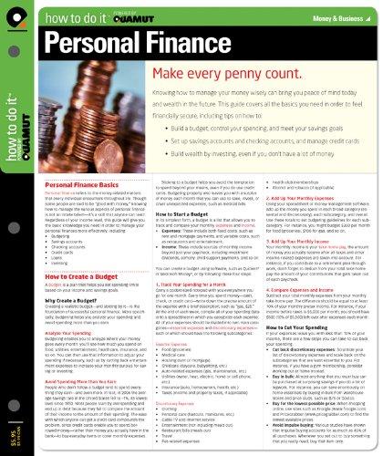 Personal Finance (Quamut): Quamut